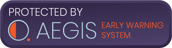 Protected by AEGIS Early Warning System